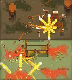 #screenshotsaturday  one more, new explosions also for Fistful of Gun. #gamedev pic.twitter.com/1iEjVA7wYg