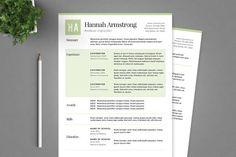 nice Green Resume Template Package