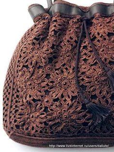 Olá!   Mais uma bolsa linda....adorei.   Imagens retiradas de um site russo.Espero que gostem!!   Até mais!!