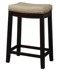 $70 Linon Allure 24 in. Backless Counter Height Stool - Bar Stools at Hayneedle