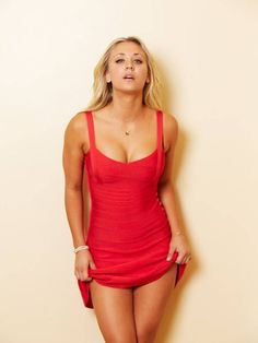 Haley Cuoco. I think pulling on clothes is absolutely #sexy. Pinned by @beafitnessfreak http://beafitnessfreak.weebly.com