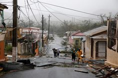 Hurricane Maria in Puerto Rico 20 Sep 2017