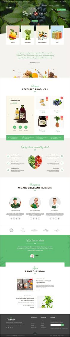 Organik is a wonderful 4 in 1 #WordPress #eCommerce #theme designed specially for #webdev organic store, farm & bakery industry download now➩ https://themeforest.net/item/organik-an-appealing-organic-store-farm-bakery-woocomerce-theme/17678863?ref=Datasata