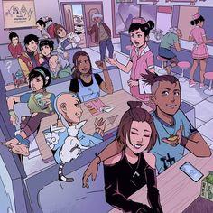 Avatar Aang, Avatar Airbender, Avatar Legend Of Aang, Avatar The Last Airbender Funny, The Last Avatar, Avatar Funny, Team Avatar, Illustration Inspiration, Art And Illustration