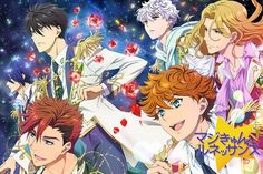 Aoi, Teika, Monet, Louis, Rintaro & Kanato (Magic Kyun! Renaissance)