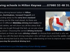 """Picking the ideal driving instructor could conserve money by lowering the lot of lessons should pass the steering test. driving instructors milton keynes could likewise reduce the probability of pupils falling short the test and could bring about a much more favorable knowing experience. Our aim is to offer you with a higher criterion of steering abilities not just to pass the test yet take with you a life long capability""""."""