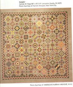 original Nearly Insane quilt