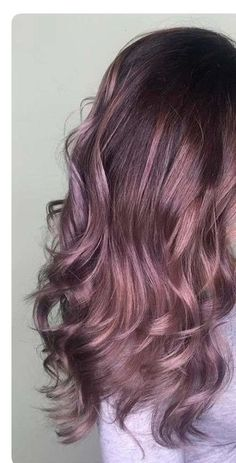 dye ideas prom ideas ideas for round fat face ideas with lehenga ideas low ponytail ideas simple ideas for the mature woman and hairstyle Purple Hair, Ombre Hair, Balayage Hair, Hair Color And Cut, Cool Hair Color, Hair Colors, Pretty Hairstyles, Easy Hairstyle, Hairstyle Ideas