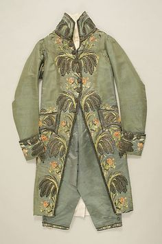 Suit 1804, French, Made of silk
