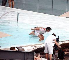 Harry Styles curtindo férias no Brasil