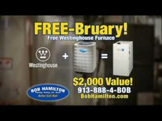 Great furnace air conditioning offer from Bob Hamilton Kansas City Plumbers