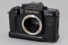 [Exc++]Contax 167 MT 35mm SLR Film Camera w/Battery Pack from Japan # 115-036365 #Contax