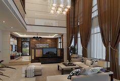 Cool Atmosphere Living Room Design