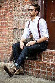 tenue de soirée homme décontractée bretelles jean Tenue De Soirée Homme,  Tenue Mariage Homme, d718700f04b2
