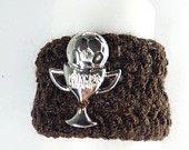 Crochet Bracelet in Brown For Your Little Champion
