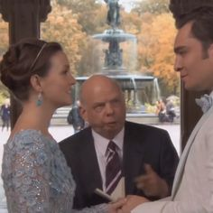 The moment we had all been waiting for — Chuck and Blair finally tying the knot — was as good as we always dreamed. The main reason? Blair's incredible blue Elie Saab dress and gem-encrusted headband.