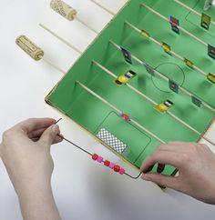 Basteltipp: Tischkicker aus Pappe - [GEO]