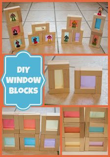 Life with Moore Babies: DIY Color Window Blocks