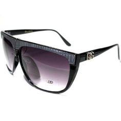 144cbe2733e0 DG204 Style 1 DG Eyewear Celebrity Inspired Vintage Men's Women's Sunglasses  with Protective Soft Pouch DG