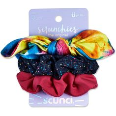 Scunci Rainbow Bow And Solid Scrunchies - - Target - Scunci Rainbow Bow And Solid Scrunchies - Scunci Rainbow Bow And Solid Scrunchies - Multi-Colored Rainbow Bow, Modelos Fashion, Hair Ties, Beauty Care, Spice Things Up, Stocking Stuffers, Headbands, Vintage Outfits, Hair Accessories