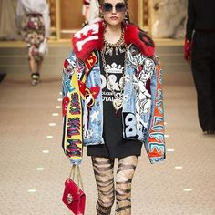 "14 curtidas, 2 comentários - Lolla (@lolla_mag) no Instagram: ""Dolce Gabbana in Milan Fashion Week"""