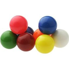 Rubber balls. Great for playing catch or to just roll on.
