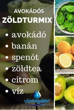 Az élet itala: zöld turmix – recept kezdőknek - kattints a képre és olvasd el a teljes cikket! Healthy Drinks, Healthy Snacks, Healthy Recipes, Smoothie Bowl, Smoothies, Eating Habits, Healthy Lifestyle, Nalu, Food And Drink