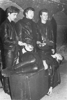 Beatles at the Cavern Club, Liverpool 1961