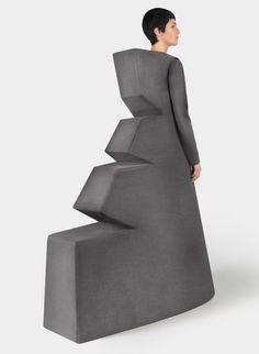 Minimalism-influenced fashion. Really?  Foam for cushions