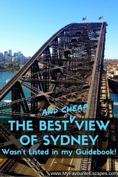 """Typed in Google """"Sydney must do top 10"""", the first 5 websites didn't mention this attraction in their top 10! The best view of Sydney for budget travellers!"""