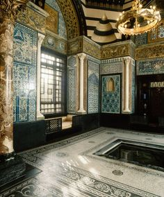 London's 19th-century Leighton House is now part museum, but it was once the home of Victorian-era painter Lord Frederic Leighton. One of the most notable rooms is the Arab Hall (pictured), covered in tile mosaics dating back to the 15th century, gathered during Leighton's trips to Damascus. The home has been open to the public since 1929.