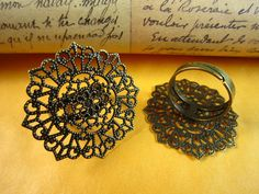 Hey, I found this really awesome Etsy listing at https://www.etsy.com/listing/94303296/30pcs-30mm-filigree-base-antique-bronze