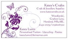 My first business card...
