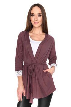 86572e780f Kardigan damski S-3XL MILA PLUS SIZE wiązany KOLORY - XELKA odzież damska  online