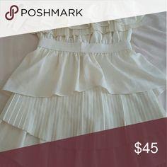 Lulus White Dress Brand new Lulus Dress Lulu's Dresses Midi