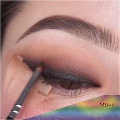 eyeliner inspiration make up Makeup Eye Looks, Eye Makeup Steps, Beautiful Eye Makeup, Eyebrow Makeup, Skin Makeup, Eyeshadow Makeup, Amazing Makeup, Prom Makeup, Easy Eye Makeup