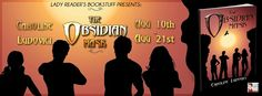 Lady Reader's Bookstuff: Official Book Tour: THE OBSIDIAN MASK by Caroline Ludovici @obsidianmask