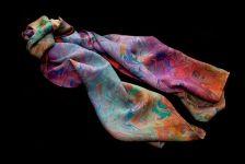 Hand made silk scarf....gorgeous!