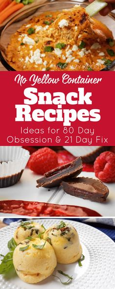 These healthy snack ideas are perfect for the 21 Day Fix and 80 Day Obsession! The best way to be prepared for your nutrition is to have these snacks prepped for when you get hungry! These are no yellow snack recipes for 80 Day Obsession and 21 Day Fix! #beachbody #80dayobsession #workout #mealplan #noyellow #21dayfix