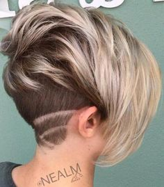 Pixie Bob With Nape Undercut