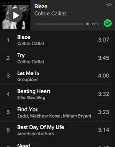 Spotify Playlist #2: PCT Hike 2015 – This one is put together by Stealthy. It is filled with 147 upbeat and feel good tunes.