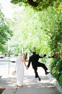 Groom kicking up his heels! Photo - Ampersand Photography | As seen on SMP: http://www.stylemepretty.com/2013/11/19/washington-d-c-wedding-from-ampersand-photography