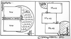 April month-by-month sketch!  Find SBC templates on the forum- www.inspiredtoscrap.net/forum