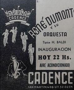 """En la década del '40 estuvieron de moda los """"Dancings"""" . Un par de décadas después las Boites, más tarde los boliches,  le siguieron las discotecas, luego las bailantas..."""