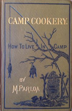 vintage cookbook from 1878 from Omnivore Books, SF, CA
