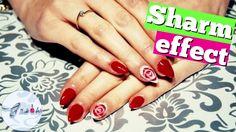 Sharm Effect. Jak zrobić efekt Sharm? Paznokcie hybrydowe, krok po kroku...