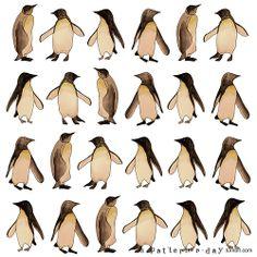 pinguin pattern