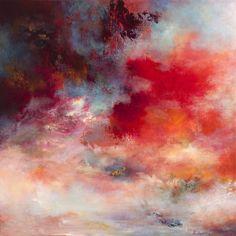 """Saatchi Online Artist: Rikka Ayasaki; Acrylic, Painting """"Passions, sunset 7003"""""""