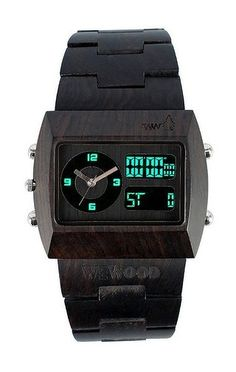 black wood #watches