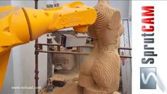 Robotic milling - robotické frézování - SoliCAD, s.r.o.